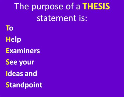 What Is a Good Thesis Statement? Referencecom
